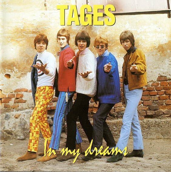 Tages - In My Dreams: The Complete Recordings, Vol.2 (1966) (Sweden, Beat/Garage/Pop Rock)