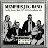 Memphis Jug Band - Complete Recorded Works 1927-1930 In Chronological Order 1991 (USA, Memphis Blues/Country Blues/Jug Bands)