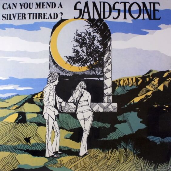 Sandstone - Can You Mend A Silver Thread? 1971 (USA, Psychedelic/Folk Rock)