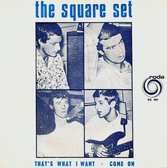 The Square Set - Featuring 'Silence Is Golden' 1967 (South Africa, Beat/Pop Rock/Rhythm & Blues)