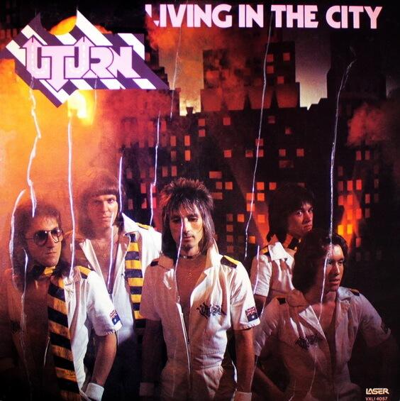 U-Turn - Living In The City 1977 (Australia, Hard/Glam Rock)