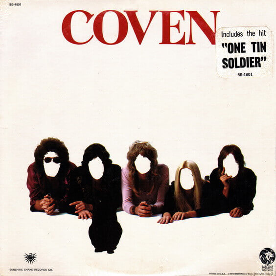 Coven - Coven 1972 (USA, Hard Rock)
