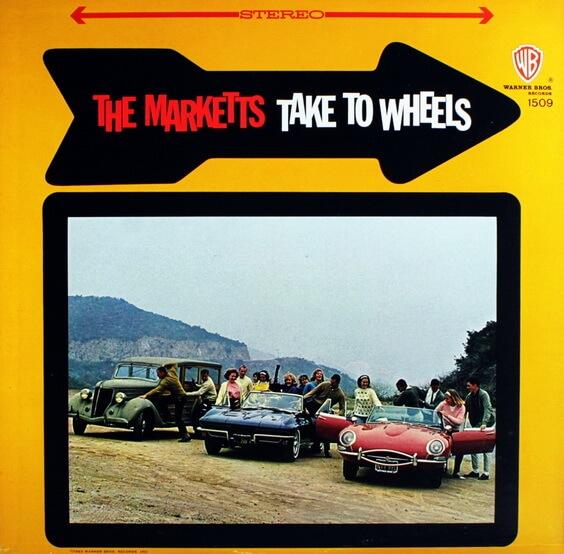 The Marketts - Take To Wheels 1963 (USA, Surf)