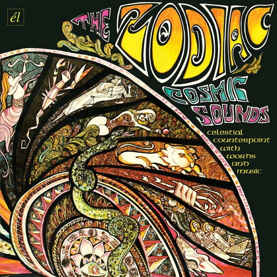 The Zodiac - Cosmic Sounds 1967 (USA, Space/Psychedelic Rock)