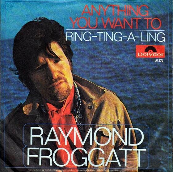 Raymond Froggatt - The Voice And Writing Of Raymond Froggatt 1968 (UK, Folk/Country/Pop Rock)