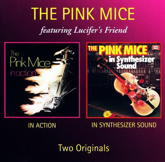 The Pink Mice - In Action / In Synthesizer Sound 2004 (Germany, Symphonic Progressive Rock)