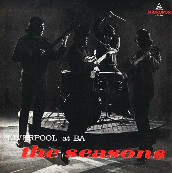 The Seasons - Liverpool At B.A. 1966 (Argentina, Beat/Garage Rock)