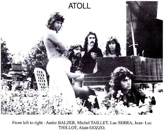 Atoll - Musiciens-Magiciens 1974 (France, Symphonic Progressive Rock)