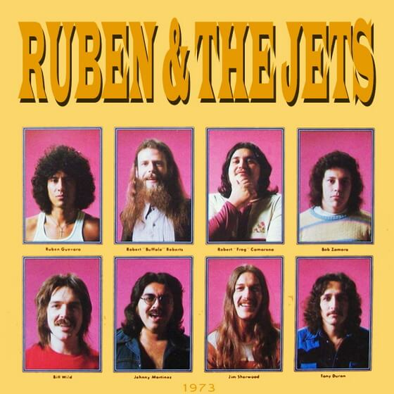 Ruben And The Jets - For Real! 1973 (USA, Rhythm & Blues/Rock & Roll/Doo Wop)