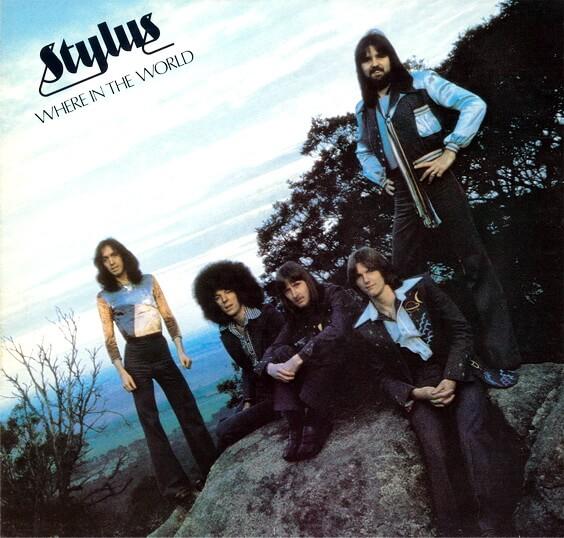 Stylus - Where In The World 1975 (Australia, Funk/Soul)