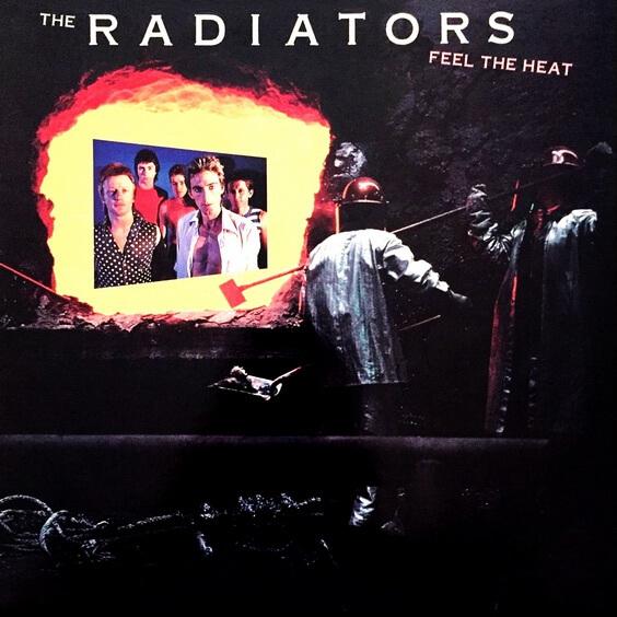 The Radiators - Feel The Heat 1980 (Australia, Power Pop/Pub Rock)