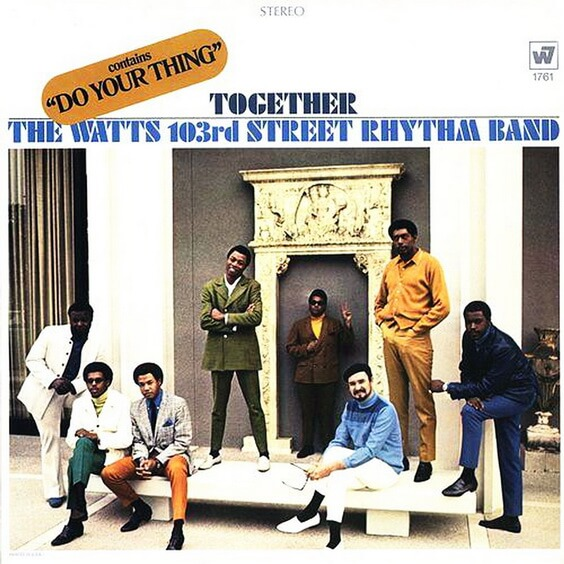 The Watts 103rd Street Rhythm Band - Together 1968 (USA, Funk/Soul)