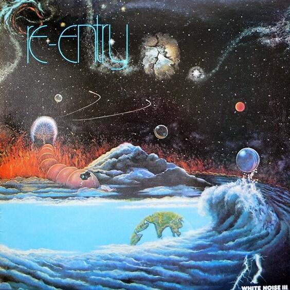 White Noise - White Noise III: Re-Entry 1980 (UK, Space/Progressive Electronic)
