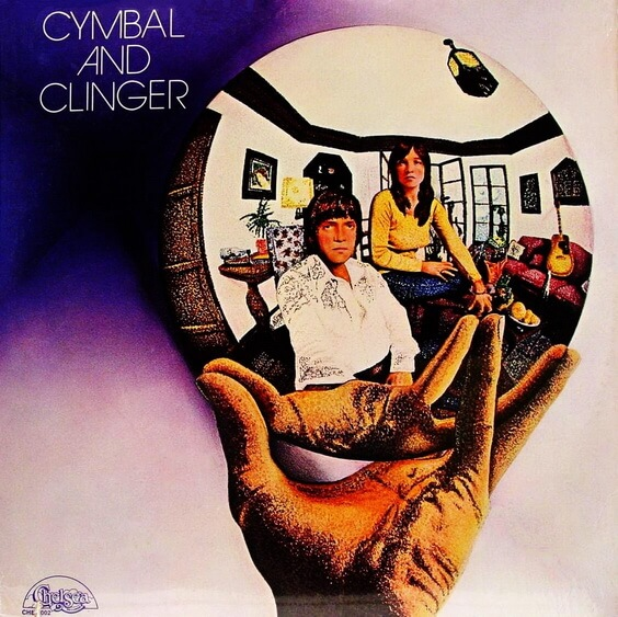 Cymbal And Clinger - Cymbal And Clinger 1972 (USA, Pop Rock)