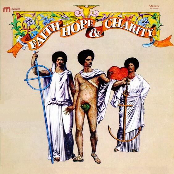 Faith, Hope & Charity - Faith, Hope & Charity 1970 (USA, Funk/Soul)