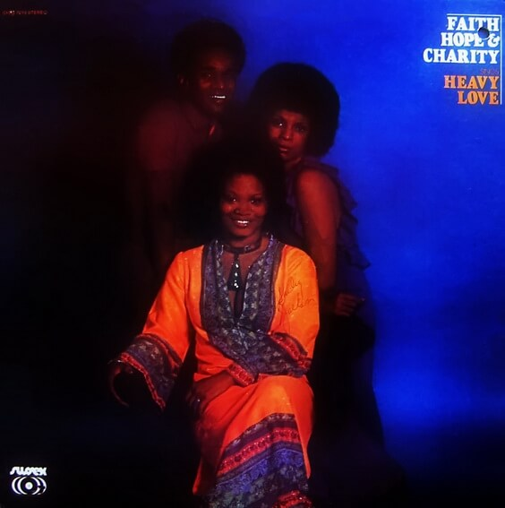 Faith, Hope & Charity - Heavy Love 1972 (USA, Funk/Soul)