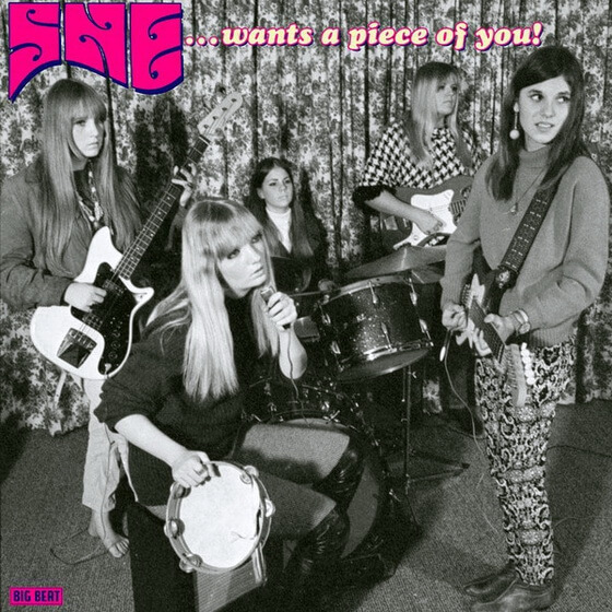 She - She Wants A Piece Of You 1999 (USA, Garage/Psychedelic Rock)