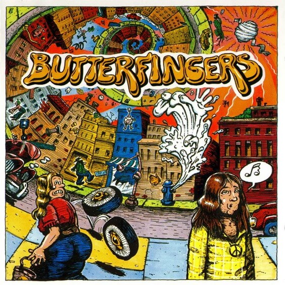 Butterfingers - Butterfingers 1970 (USA, Psychedelic Rock)