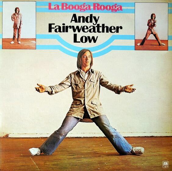 Andy Fairweather Low – La Booga Rooga 1975 (UK, Pop Rock)