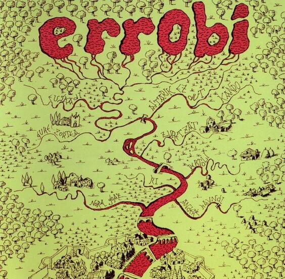 Errobi - Errobi 1975 (Spain, Progressive/Folk Rock)