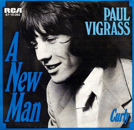 Paul Vigrass - Singles 1968-70 (UK, Pop Rock)