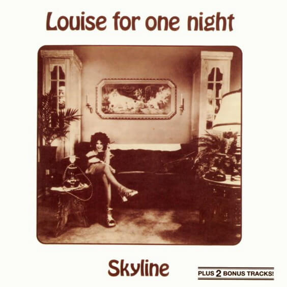 Skyline - Louise For One Night 1976 (Germany, Krautrock/Jazz/Funk Rock)