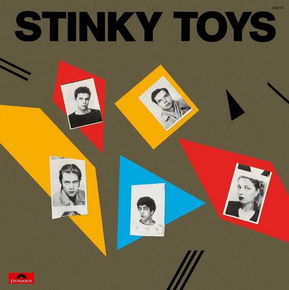 Stinky Toys - Stinky Toys 1977 (France, Punk Rock)