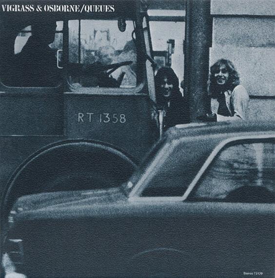 Vigrass & Osborne - Queues 1972 (UK, Psychedelic Pop/Sunshine Pop)