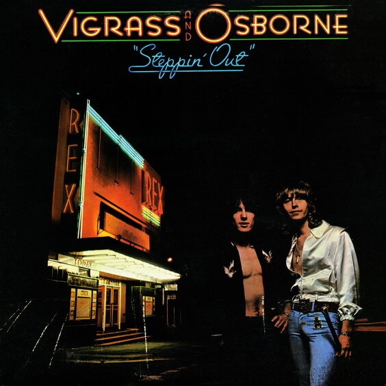 Vigrass And Osborne ‎– Steppin' Out 1974 (UK, Pop Rock)